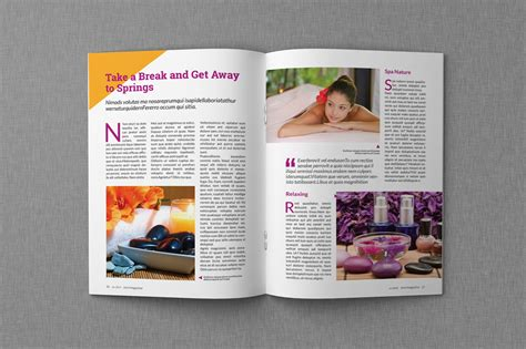 Magazine Format Template by Magazine Template 35 Magazine Templates On