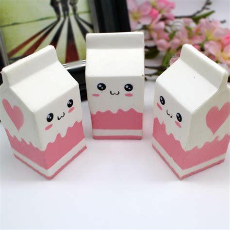 squishy jumbo pink milk bottle box cm slow rising soft