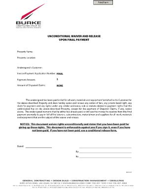 Bill Of Sale Form Conditional Waiver Of Lien Forms Bill Of Sale Form Colorado Conditional Partial Waiver Of