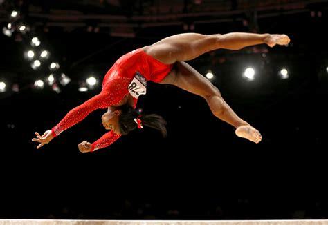 Biles Floor Routine Score by U S Gymnast 2016 Hopeful Biles To Debut New