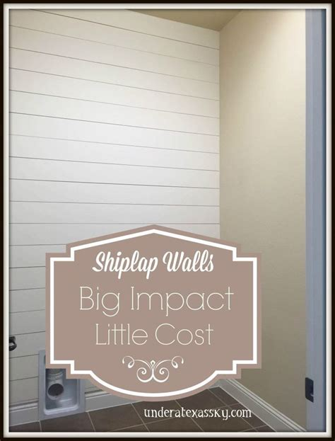 shiplap wall bathroom decor pinterest walls  laundry rooms