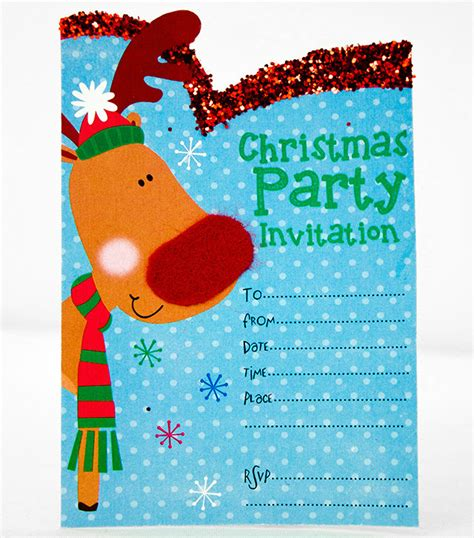 printable christmas invitation templates party