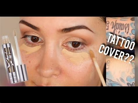 urban decay  nighter concealer   crease cover