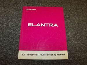 2001 Hyundai Elantra Sedan Electrical Wiring Diagram