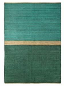 brita sweden tapis 39field39 chanvre vert bleu 170x250cm With tapis bleu turquoise