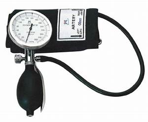 One Hand Manual Blood Pressure Cuff Large Adult Size