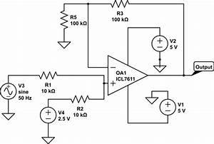 Op Amp - Phase Shift Problems With Icl7611 Op-amp
