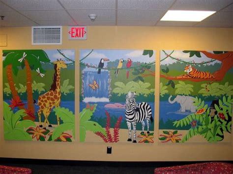 13 best knowledge explorer preschool mural images on 872 | f19ba5ce905d5e1b3e9cfde3f8a6da68 jungle murals for kids jungle art