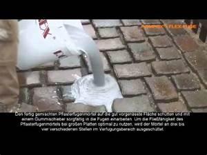 Pflaster Verfugen Gegen Unkraut : rompox flex fuge de youtube ~ Michelbontemps.com Haus und Dekorationen