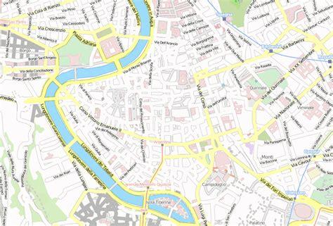 pantheon stadtplan mit luftaufnahme und hotels von rom