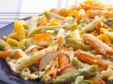 Packed with flavor & a zesty italian style this fresh, easy pasta salad recipe comes together in under 30 minutes! Festive Pasta Salad   Pasta, Pasta salad, Healthy pastas