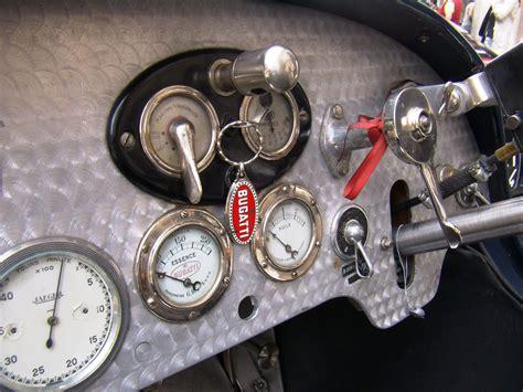 Bugatti Type 37 Dashboard Interior Gauges Interface