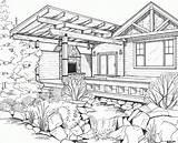 Coloring Interior Drawing Drawings Malvorlagen Erwachsene Line Exterior Floor Cool Plan Scheme Rendering Building Popular Plans Bing Getdrawings Sipp Stephanie sketch template