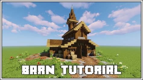 How To Build A Minecraft Barn by Minecraft Tutorial How To Build A Barn