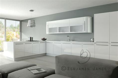 Gloss Cupboard Doors by High Gloss White Kitchen Cabinet Cupboard Door Fronts