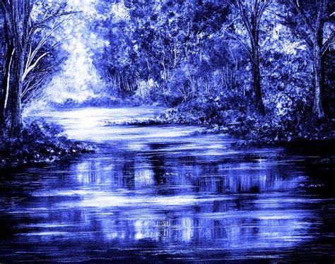 Moody Blue By Annmariebone On Deviantart ~ Monochromatic