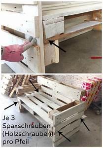 Paletten Möbel Bauen : m bel aus paletten bauen anleitung m bel aus paletten anleitungen und m bel ~ Sanjose-hotels-ca.com Haus und Dekorationen