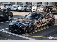 Soldatul MercedesAMG GT S pleacă la război în camuflaj