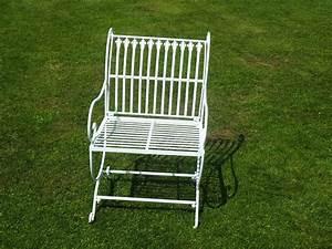 Fauteuil Fer Forgé : fauteuil fer forg blanc demeure et jardin ~ Teatrodelosmanantiales.com Idées de Décoration