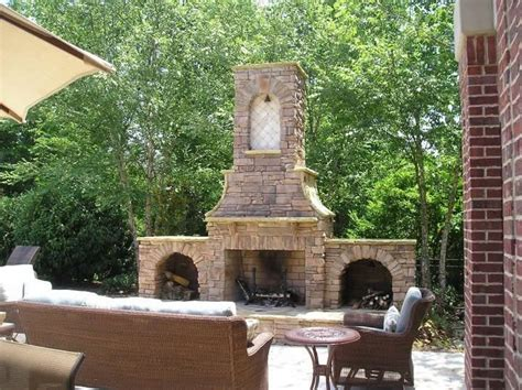 outdoor fireplace landscaping ideas outdoor fireplace chattanooga tn photo gallery landscaping network
