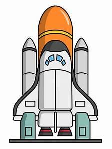 Rocket ship clip art free cartoon rocketship space alien ...
