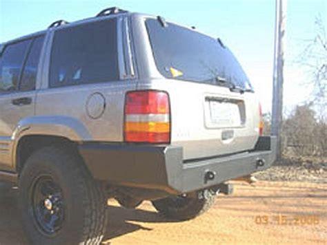 jeep cherokee rear bumper c4x4 jeep grand cherokee zj rear bumper zj rb