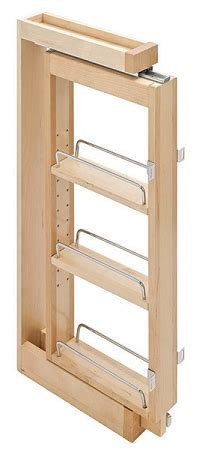 pull  spice rack upper kitchen cabinet storage