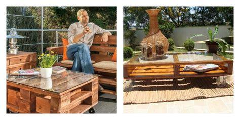 fabrication canapé le salon de jardin en palette en plus de 110 idées originales