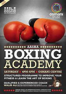 boxing hbo boxing and poster templates on pinterest With boxing poster template free