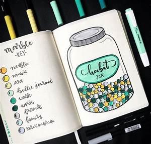 10 bullet journal habit trackers to start habits