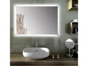 led len fürs badezimmer rechteckiger spiegel led für badezimmer sole