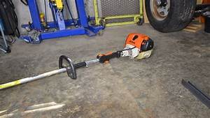 Repairing A Stihl Fs110r String Trimmer Fuel Primer Bulb