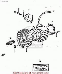 Suzuki Lt50 1988  J  Cylinder
