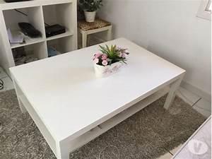 Ikea Table Basse Blanche : table basse ikea clasf ~ Teatrodelosmanantiales.com Idées de Décoration