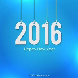 Happy New Year 2016 Image by 123freevectors on DeviantArt
