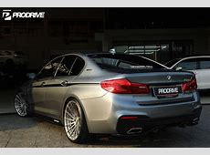 Bluestone Metallic BMW G30 530e ADV15R MV2 CS Series Wheels