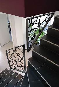garde corps bois design mzaolcom With garde corps escalier interieur design