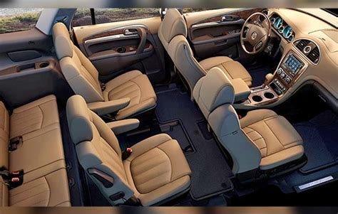 buick enclave interior enclave redesign autos post