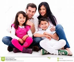 Happy family portrait stock photo. Image of loving ...