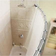 Shower Remodel With A Curved Curtain Rod
