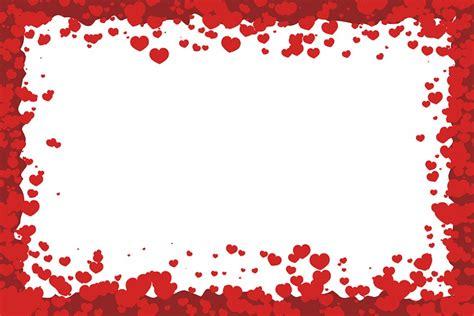 15 Valentine Vector Border Designs Images - Happy ...