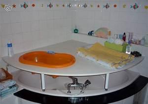 Grande Baignoire Enfant : baignoire bebe poser sur baignoire adulte ~ Melissatoandfro.com Idées de Décoration