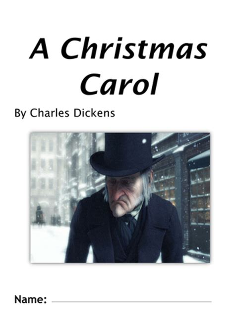 a christmas carol by charles dickens worksheet booklet 20 lessons ks3 ks4 by lofford1