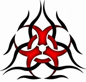 Toxic Symbol Drawing