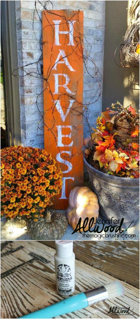 diy outdoor fall decorations