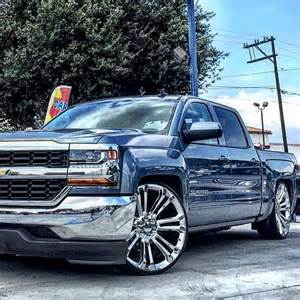 2016 Chevy Silverado Dropped