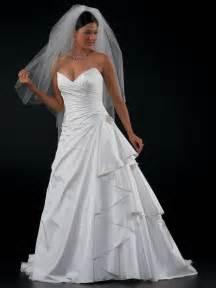 Discount Plus Size Strapless Wedding Dresses