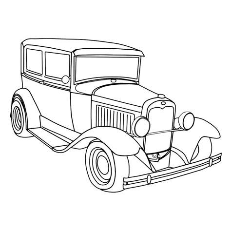 Ford Kleurplaat by Leuk Voor Ford Oldtimer
