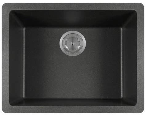 808black Single Bowl Trugranite Sink