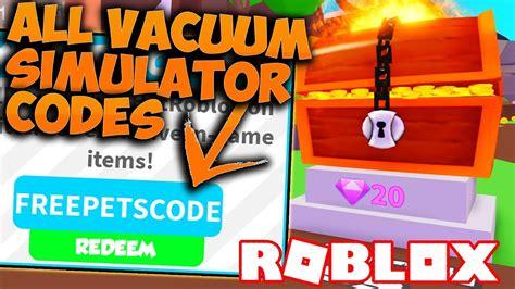 vacuum sim roblox codes strucidcodescom
